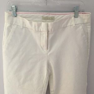Saint Tropez white ankle trousers